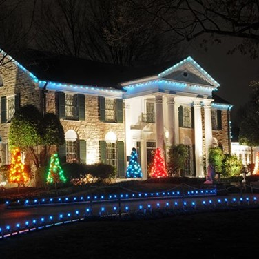 Elvis' Blue Christmas - Memphis & Nashville, TN